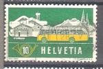 Sellos de Europa - Suiza -  Automóviles Postales Y537