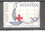 Sellos del Mundo : Europa : Suiza :  RESERVADO JAVIER AVILA Cent. Cruz Roja Int. Y709