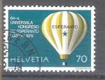 Sellos de Europa - Suiza -  RESERVADO MIGUEL Congreso Mundial de Esperanto Y1078