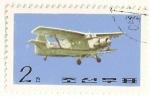 Sellos de Asia - Corea del norte -  Aviacion civil coreana. Antonov AN2.
