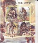 de Africa - República del Congo -  LA EVOLUCIÓN DEL HOMBRE