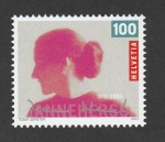 Stamps Switzerland -  100 Aniv. del nacimientode Jeanne Hersch