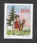 Stamps : Europe : Switzerland :  Libros para niños