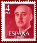 Stamps Europe - Spain -  Edifil 2225 Serie básica Franco 4 NUEVO