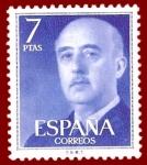 Stamps Europe - Spain -  Edifil 2226 Serie básica Franco 7 NUEVO
