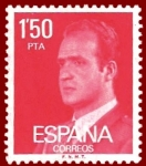 Stamps Europe - Spain -  Edifil 2344 Serie básica 1 Juan Carlos I 1,50 NUEVO