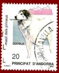 Stamps Andorra -  ANDORRA Edifil 206 Mastí dels Pirineus 20