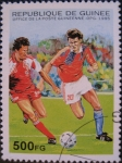 Stamps : Africa : Guinea :  1998 World Cup Soccer Championships, France