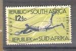 Sellos del Mundo : Africa : Sudáfrica :  RESERVADO rugby