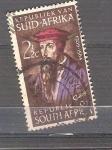 Sellos de Africa - Sudáfrica -  personaje
