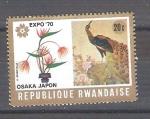 Sellos del Mundo : Africa : Rwanda :  RESERVADO Osaka Expo 70