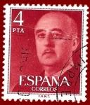Sellos de Europa - España -  Edifil 2225 Serie general Franco 4