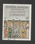 Stamps Laos -  60 Aniv. de la Federación Mundial de Ajedrez