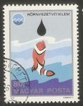 de Europa - Hungría -  2455 - Exposición oceanográfica Okinawa, pez