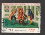 de Asia - Yemen -  Münich ciudad olímpica 1972