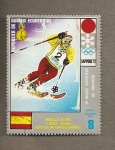 Stamps Equatorial Guinea -  Juegos Olimpicos Invierno 1972