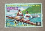 Sellos de Africa - Guinea Ecuatorial -  Regatas Munich 72