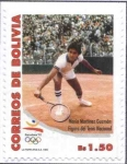 Stamps of the world : Bolivia :  Tenista Boliviano Mario Martinez Guzman