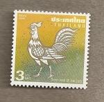 Stamps Thailand -  Gallo blanco