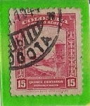 Stamps Colombia -  Correo Aereo