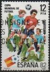 Stamps Spain -  Copa Mundial d´Futbol ESPAÑA´82