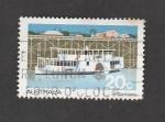 Stamps Australia -  Barco a vapor con rueda motriz