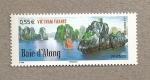 Sellos de Europa - Francia -  Bahía de Along, Vietnam