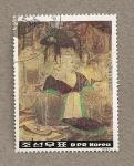 Stamps North Korea -  Cultura Coguryo Siglos 4º-6º