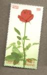 Stamps Asia - Thailand -  Rosa de tallo largo