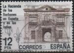 Sellos de Europa - España -  La hacieda d´l´Borbones en España y  en las Indias