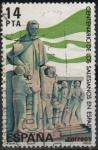 Stamps Spain -  Centenario d´l´llegada a España dl l´Padres Selecianos