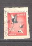 Sellos de Asia - Japón -  Grullas