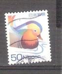 Sellos de Asia - Japón -  pato mandarín