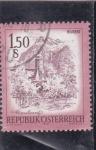 Stamps : Europe : Austria :  PANORÁMICA DE BLUDENZ