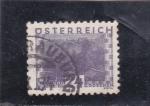 Stamps Austria -  PANORÁMICA DE SALZBURG