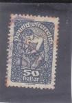Stamps : Europe : Austria :  PLANTANDO UN ARBOL
