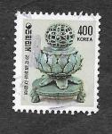 Stamps South Korea -  1267 - Quemador de Incienso Koryo Celadon
