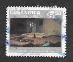Stamps Costa Rica -  C848 - Maqueta del Nuevo Archivo Nacional