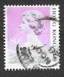 Sellos de Asia - Hong Kong -  495d - Isabel II
