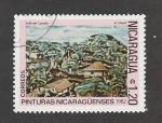 Stamps Nicaragua -  Pinturas nicaraguenses