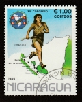 Stamps Nicaragua -  XIII Congreso Chasqui