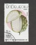 Stamps Nicaragua -  40 Aniv de la FAO.Piña