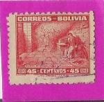 Sellos de America - Bolivia -  Sueño de Murillo