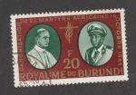 Sellos de Africa - Burundi -  Canonización mártires africanos