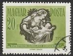 Stamps Hungary -  1237 - Propaganda para el seguro y ahorro, mujer y niño