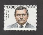 Stamps Poland -  Lech Walesa, Premio Nobel 1983