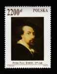 Sellos de Europa - Polonia -  Peter Paul Rubens
