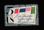 Stamps United States -  6 rxposición filatélica rn Washington