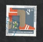 Stamps New Zealand -  El movimiento para correr
