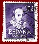 Sellos de Europa - España -  Edifil 1074 Ruiz de Alarcón 0,20